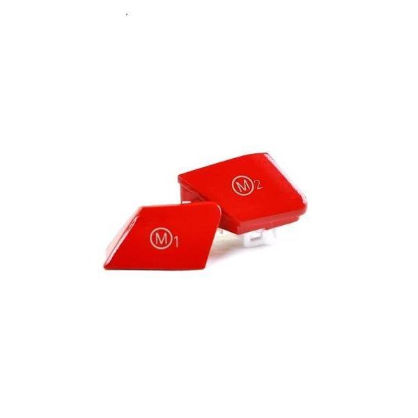 Botões Vermelhos Guiador
