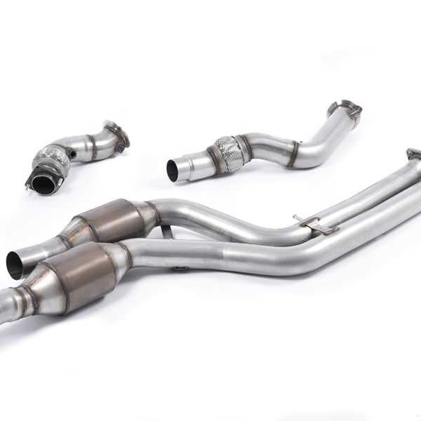 Milltek Large Bore Downpipes and Hi-Flow Sports Cats