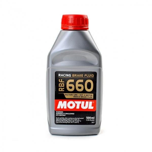 Óleo para sistema de travagem Motul RBF 660 500ml