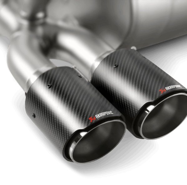 BMW M3 M4 Competition Akrapovic Slip-On Titanium Exhaust